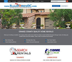 www.RentalHomesOC.com - Orange County Home Rentals